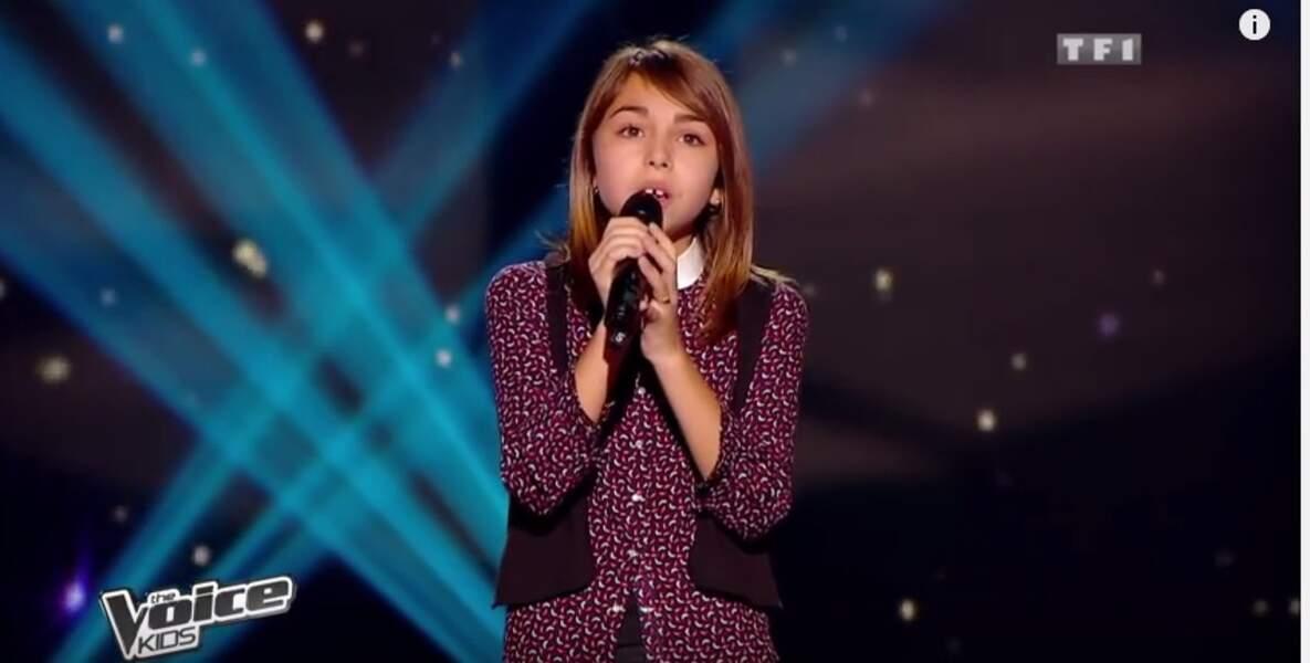 Carla remporte la première saison de The Voice Kids en 2014