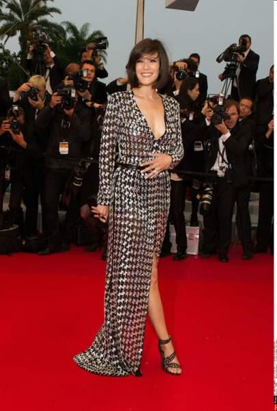 A Cannes, elle brille de mille feux !