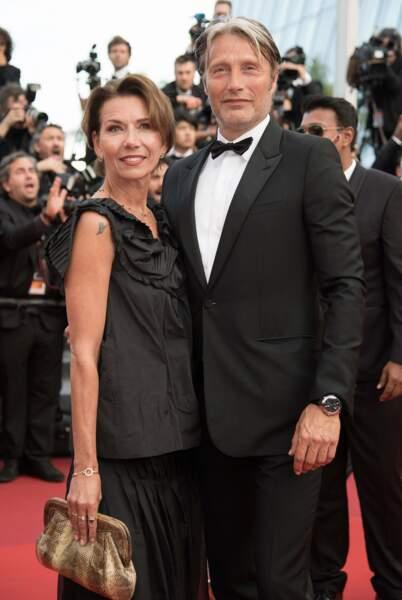 Mads Mikkelsen était aussi de la parade, accompagné de sa femme, l'actrice Hanne Jacobsen