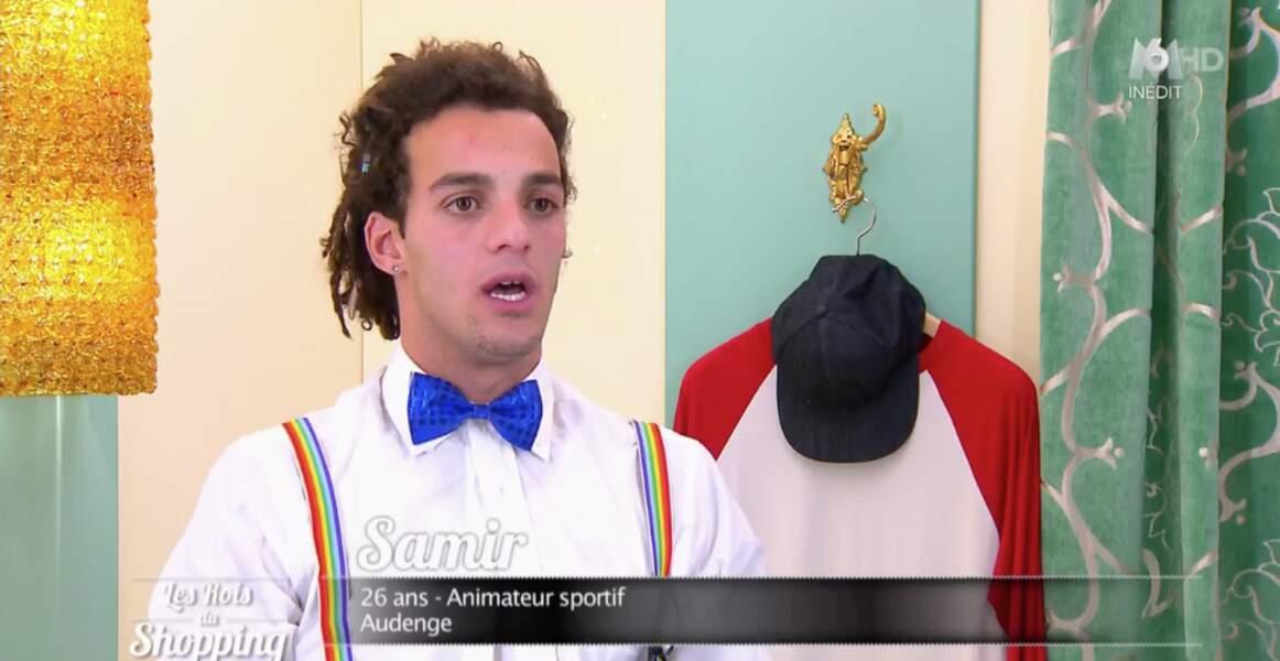 Mais peut-être préférez-vous les bretelles (et le nœud pap') de ce candidat des Rois du shopping