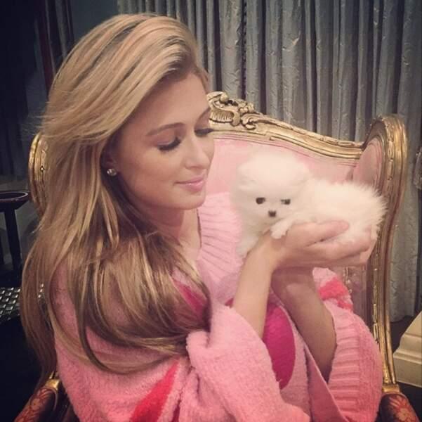 Paris Hilton ne quitte plus son nouveau copain
