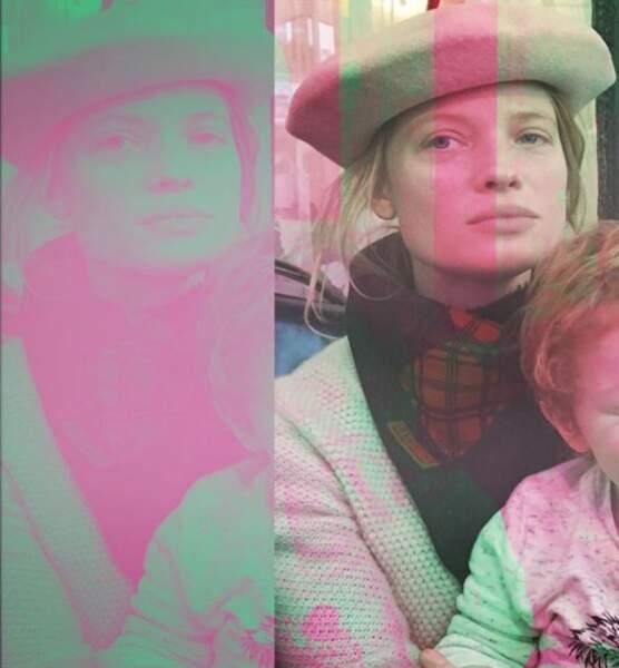 Avec sa petite famille, Mélanie Thierry est une femme et une mère épanouie !