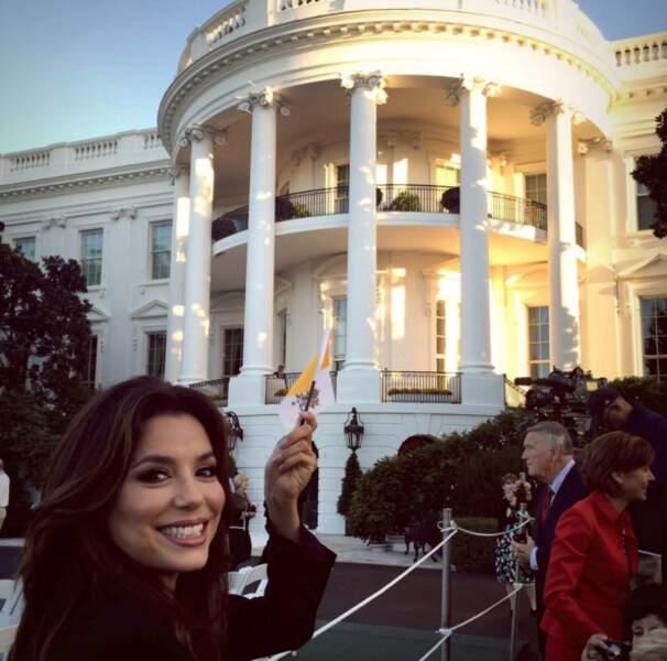 Elle a ses entrées à la Maison-Blanche.