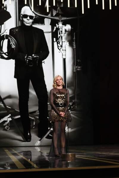 La mémoire de Karl Lagerfeld a été honorée par Diane Krüger