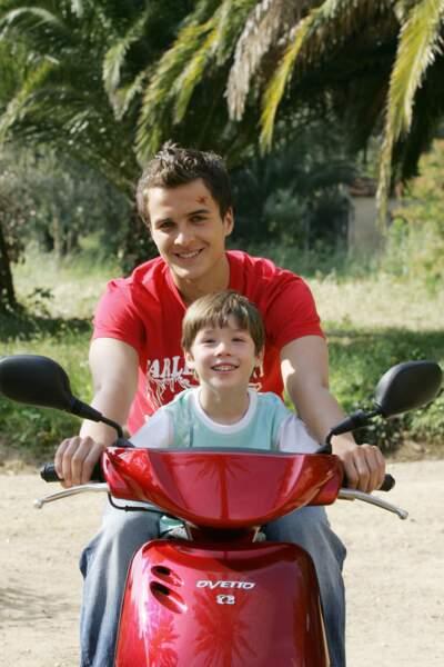 Jonathan Demurger a joué Tom, le fils de Samuel et Caroline.