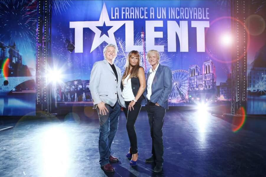 Gilbert Rozon, Sophie Edelstein et Dave formeront à nouveau le jury de La France a un incroyable talent