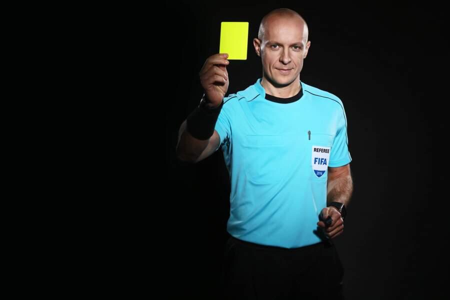 Le Polonais Szymon Marciniak fait partie de la jeune génération d'arbitres à l'instar d'Ovidiu Hategan