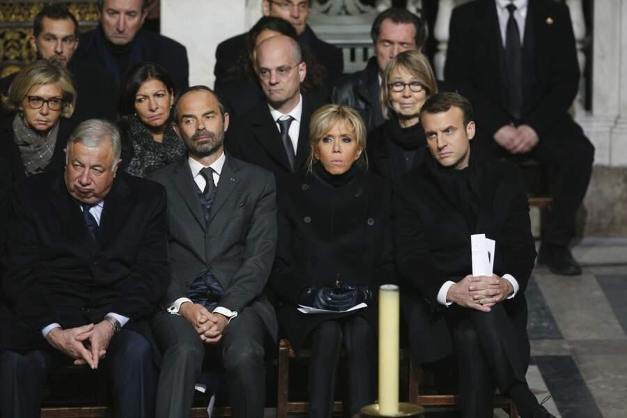 On y a également vu le Premier Ministre Edouard Philippe et la Maire de Paris Anne Hidalgo.