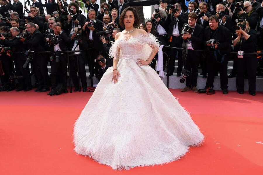 Michelle Rodriguez en blanc...