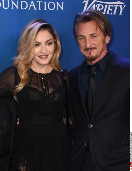 Sean Penn et Madonna, amis en 2016