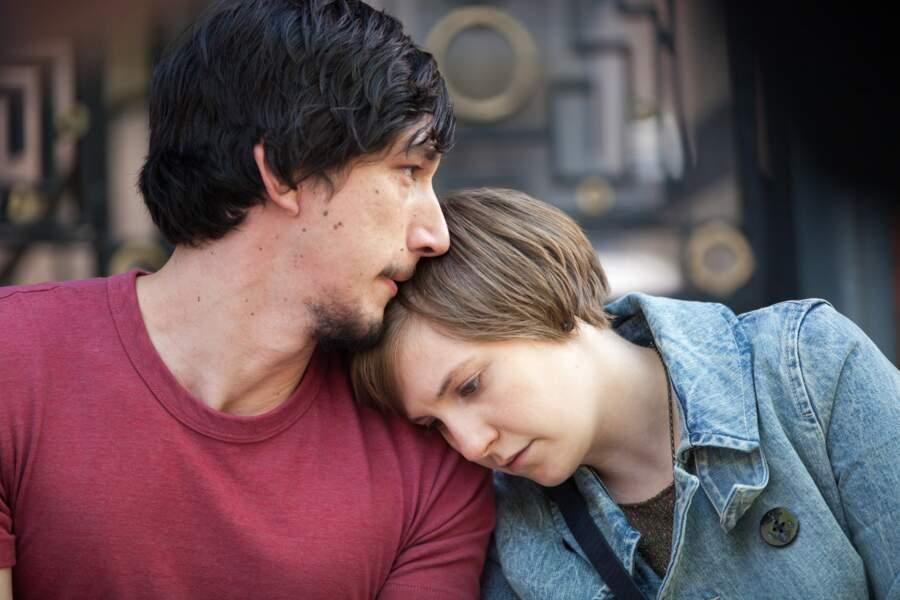 Sex friends au début de la série, Hannah et Adam forment un couple solide dans la troisième saison