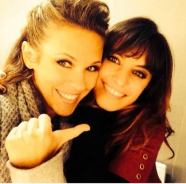 Laëtitia Milot et Lorie, deux grandes copines depuis la tournée DALS !
