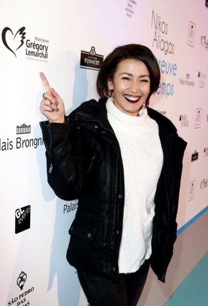 L'ancien candidate de Star Academy, Karima Charni