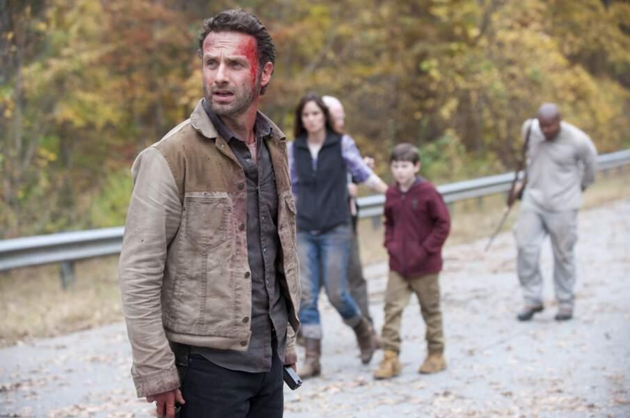Avant de dégommer du zombie dans la série, Andrew Lincoln alias Rick s'est illustré plusieurs fois sur grand écran