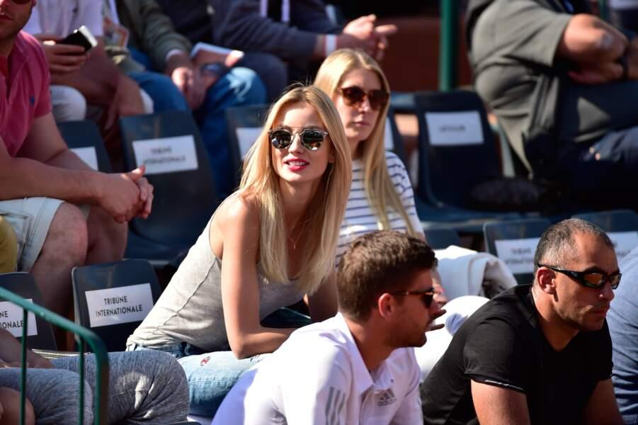 On commence avec la jolie copine de Tomas Berdych