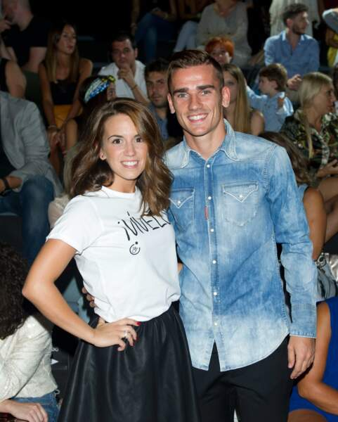 Premier heureux évènement aussi pour le footballeur Antoine Griezmann et sa compagne Erika Choparena.