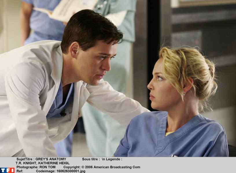 Dr. George O'Malley (2005-2009) : de moins en moins présent à l'écran, T. R. Knight quitte la série en saison 5