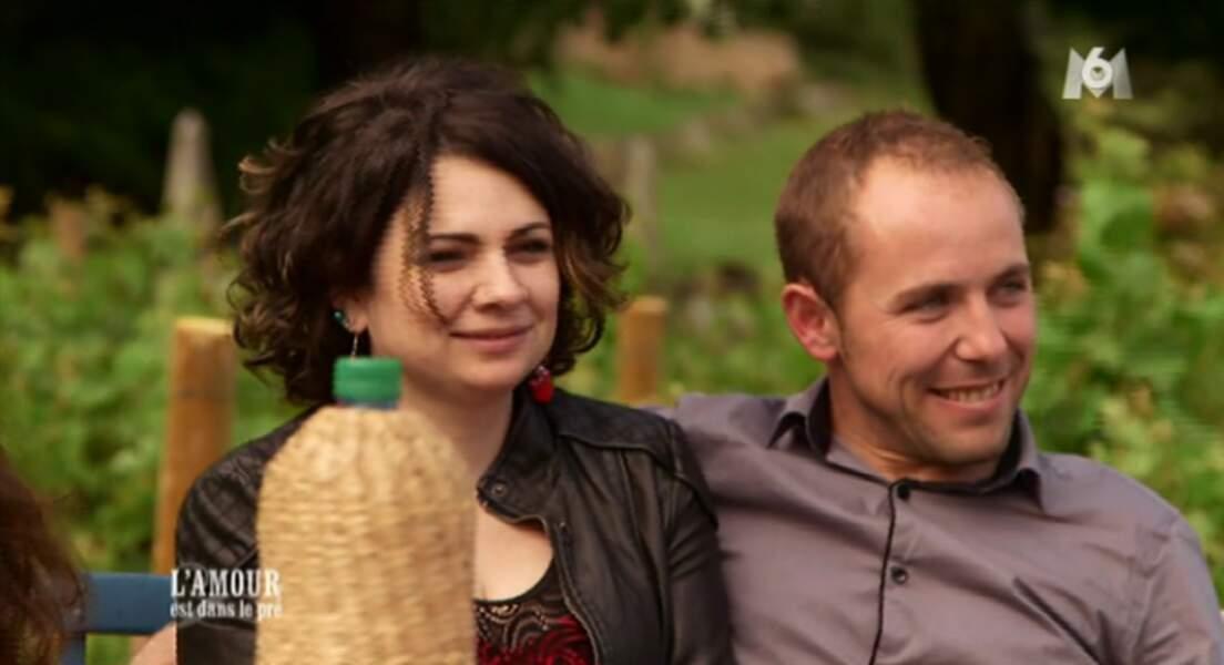 Bertrand et son amoureuse, Marie. Est-ce qu'ils ne sont pas mignons ?