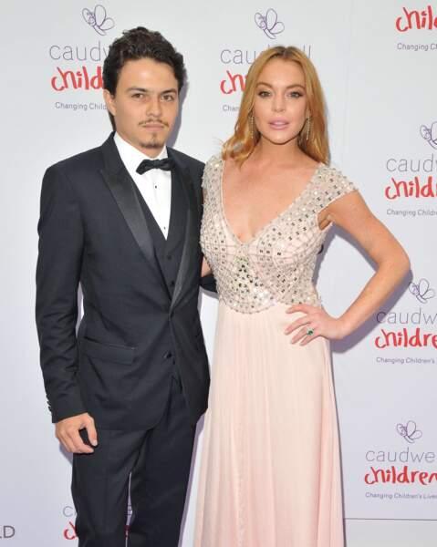 L'actrice Lindsay Lohan et Egor Tarabasov, en couple depuis 2015.