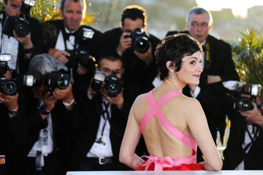 ... une robe superbe de dos également !