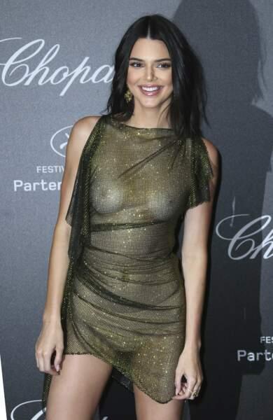 Kendall Jenner n'est pas venue pour rigoler à la soirée Chopard !