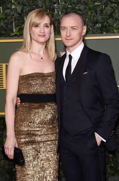 L'acteur James McAvoy et Anne-Marie Duff, mariés depuis 2006.