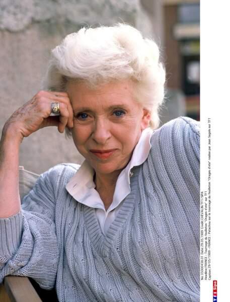 La chanteuse et actrice Patachou a disparu à 96 ans.