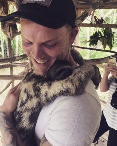 Le DJ Avicii s'est fait un nouvel ami au Pérou.