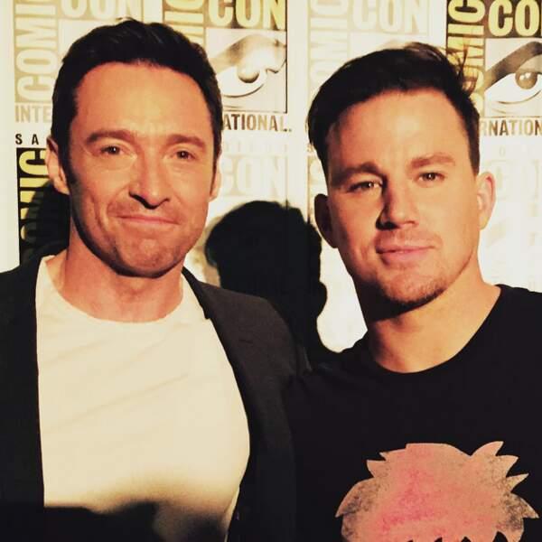 Wolverine avec son ennemi de toujours, le prochain Gambit (alias Channing Tatum) ?
