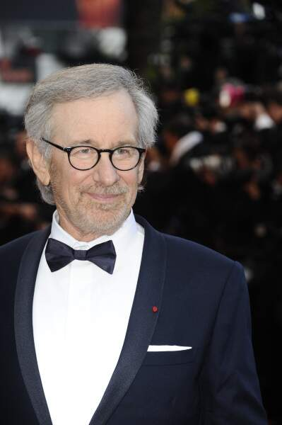 Le président du jury, Steven Spielberg