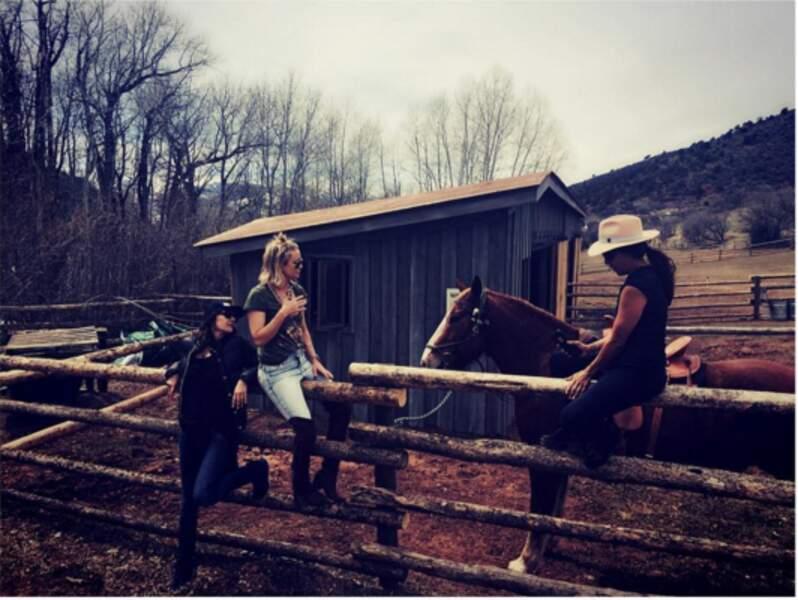 Kate Hudson, la vie au ranch