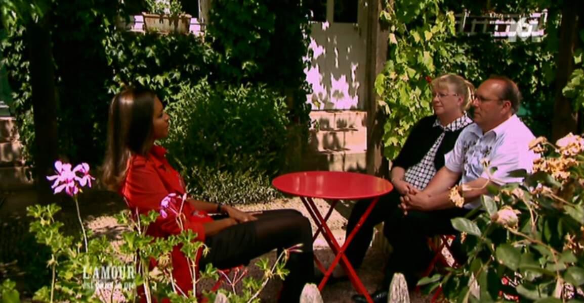 S'il n'a pas trouvé l'amour dans l'émission, Thierry est aujourd'hui amoureux de la souriante Véronique !