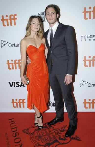 Les acteurs Melissa Benoist et Blake Jenner, mariés en 2015.