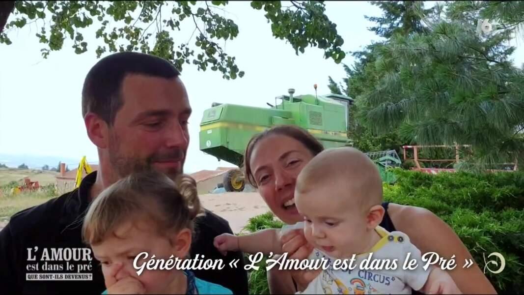 Sophie (saison 8), éleveuse installée en Rhône-Alpes, est comblée avec Mathieu