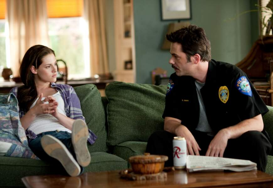 Charlie Swan a toujours tenté de protéger sa fille