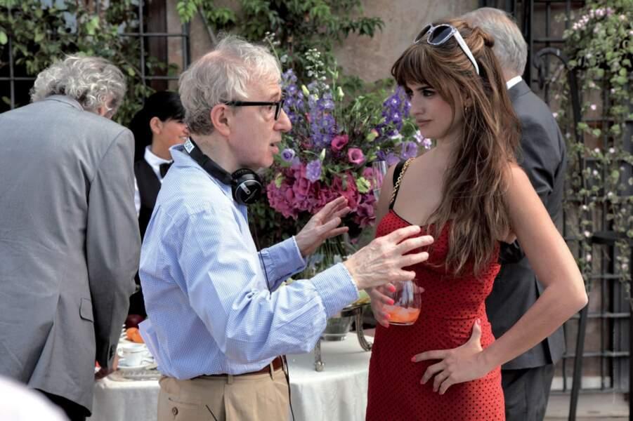 2012. Woody Allen dirige à nouveau Penélope dans To Rome With Love
