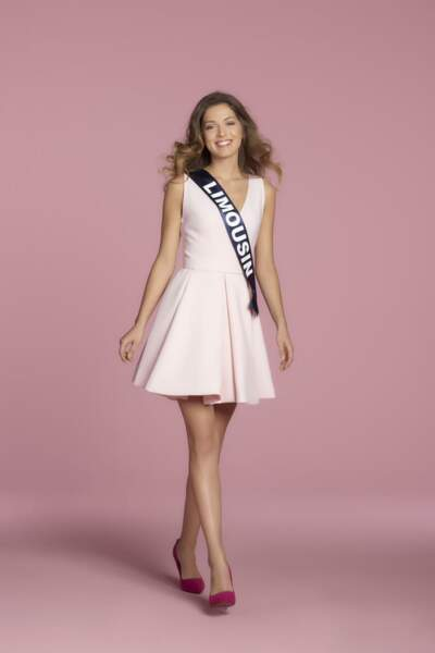 Anais Berthomer, Miss Limousin