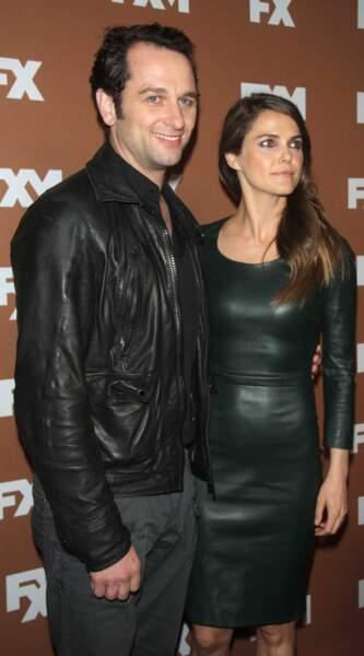 Déjà maman de deux enfants, l'actrice Keri Russell attend un premier bébé avec son conjoint Matthew Rhys.