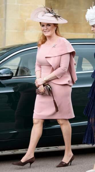 Suprise, Sarah Ferguson était elle aussi invitée au mariage de Lady Gabriella Windsor
