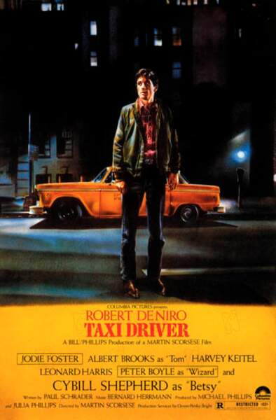 Il s'agit de Taxi Driver