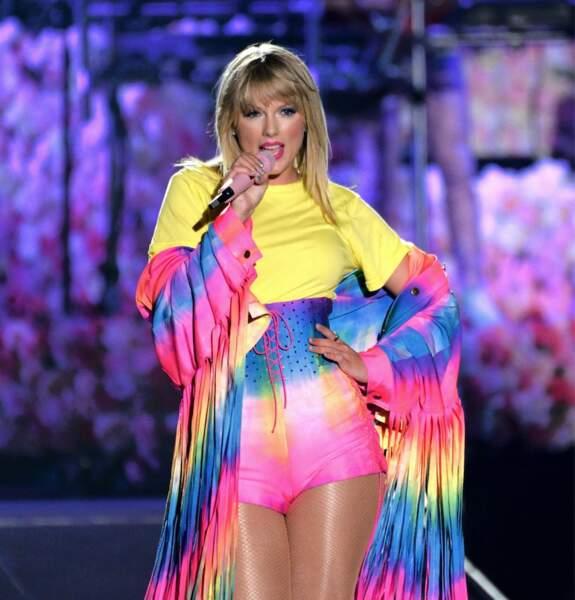 Taylor Swift, née le 13 décembre 1989.