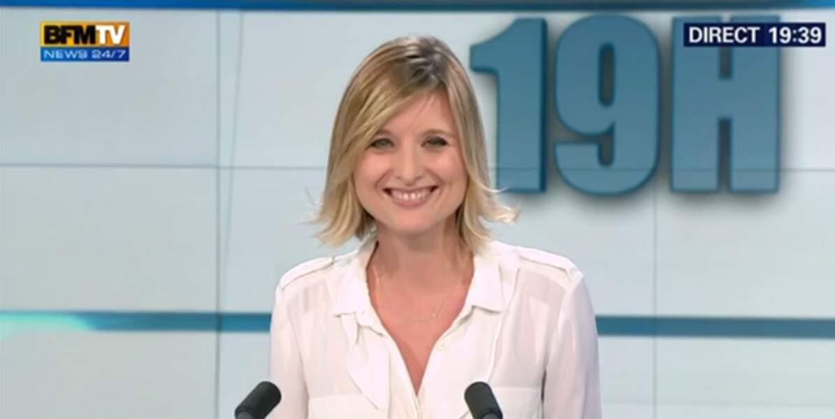 Karine de Ménonville co-présente la tranche 12h-15h de BFMTV