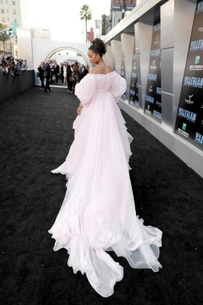 Rihanna, tu t'en vas ? Ah oui, le diaporama est déjà fini !