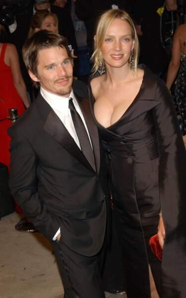 Les acteurs Uma Thurman et Ethan Hawke filaient le parfait amour jusqu'aux infidélités de ce dernier avec...