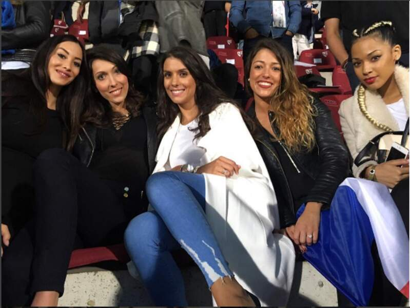 Mesdames Rami, Giroud, Sagna, Schneiderlin et Coman