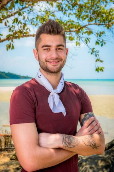 Benoît, candidat de Koh-Lanta : l'île au trésor