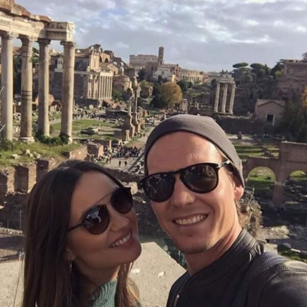 Berdych a emmené sa douce et tendre à Rome
