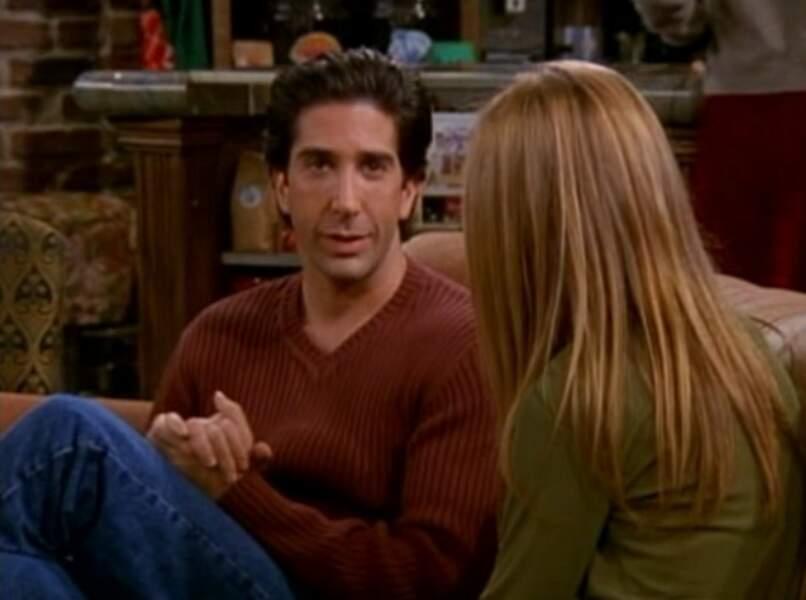Ross drague Rachel...