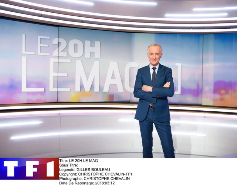 """En 2018, voici le nouveau magazine d'information pour Gilles Bouleau sur TF1, """"20h le mag"""""""