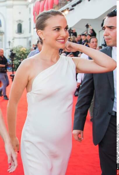 Deuxième grossesse pour l'actrice